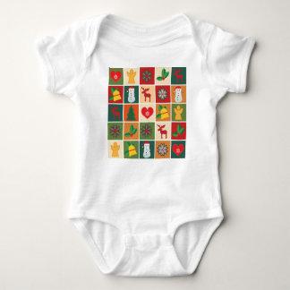 Christmas Collage Baby Bodysuit