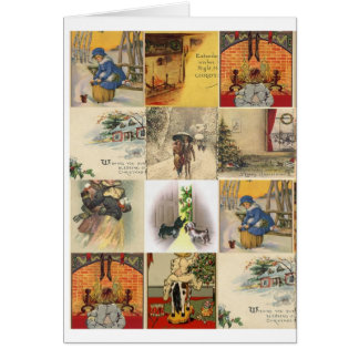 Christmas Collage Card