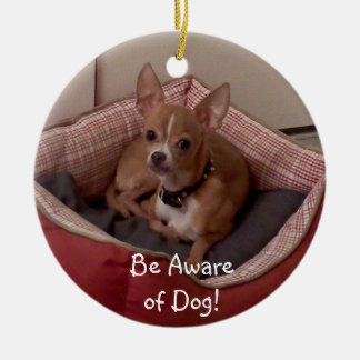 Christmas Collection Add Pet Photo/Other Photos Ceramic Ornament
