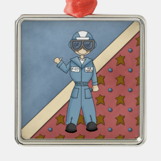 Christmas Collection Air Force Guy Ornament