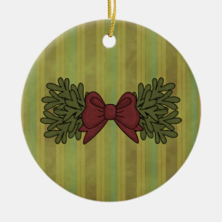 Christmas Collection Bow Garland Tree Ornament