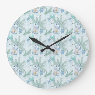 Christmas Collection Large Clock