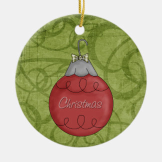 Christmas Collection Red Ornament