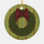 Christmas Collection Wreath Tree Ornament