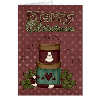 Christmas Collection Xmas Boxes Greeting Card