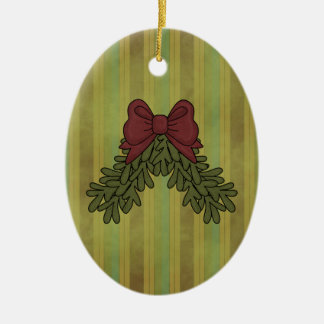 Christmas Collections Bow Garland Ornament
