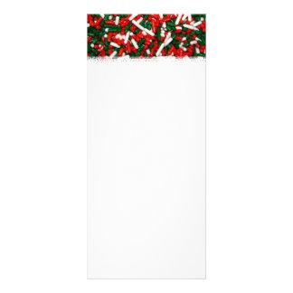 Christmas Colored Sprinkles Rack Cards