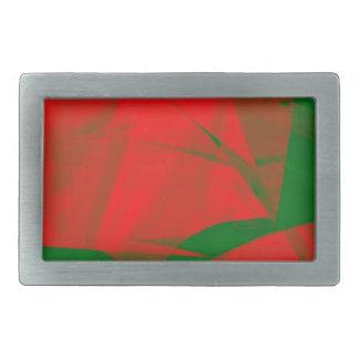 Christmas Colors Belt Buckle