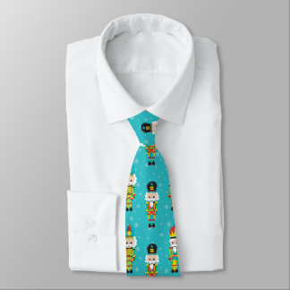 Christmas Colors Nutcracker Tie