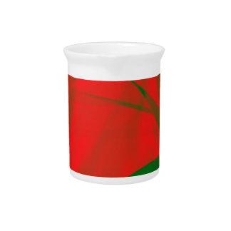 Christmas Colors Pitcher
