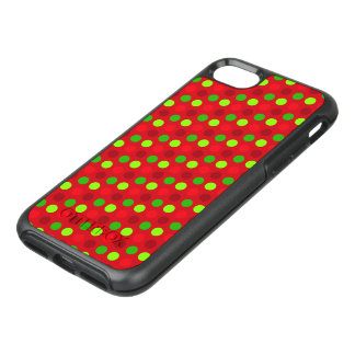 Christmas Colors Polka Dots OtterBox Symmetry iPhone 8/7 Case