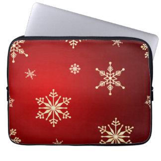christmas computer sleeves
