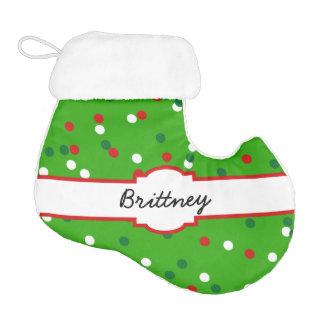 Christmas Confetti • Christmas Tree Sprinkles Elf Christmas Stocking