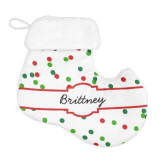 Christmas Confetti •  Royal Icing Sprinkles Elf Christmas Stocking