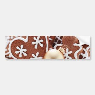 Christmas Cookie Bumper Sticker