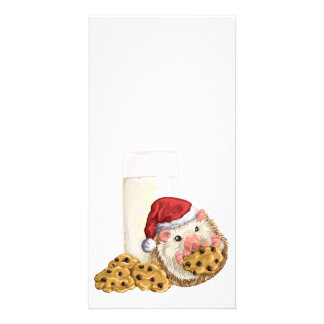 Christmas Cookie Hog Personalized Photo Card