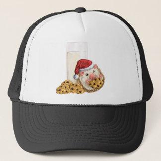 Christmas Cookie Hog Trucker Hat