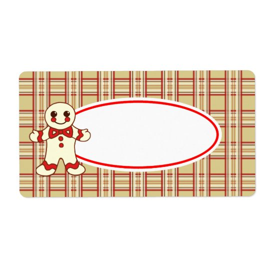 Christmas Cookie Labels