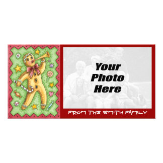 Christmas Cookie Photo Card - NEW