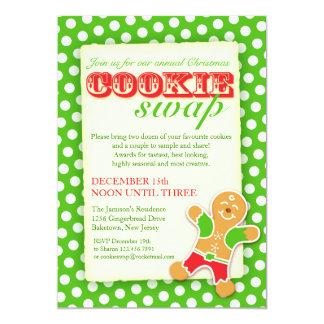 Christmas Cookie Swap invitation