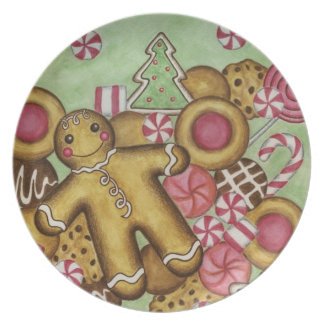 Christmas Cookies Decorative Plate