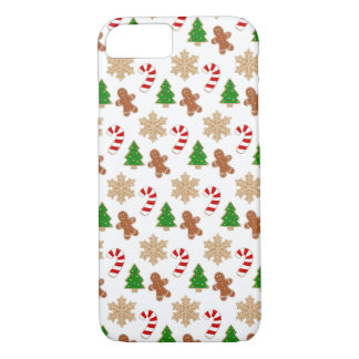 Christmas Cookies Novelty Holiday Festive Pattern iPhone 8/7 Case