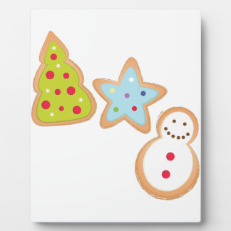 Christmas Cookies Plaques