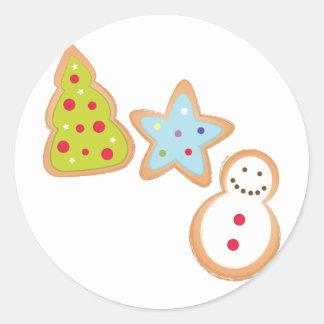 Christmas Cookies Round Sticker
