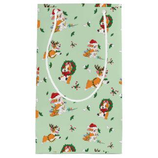 Christmas Corgis Gift Bag