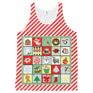 Christmas Countdown Apparel All-Over Print Tank Top