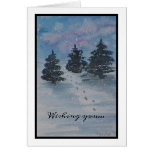 Christmas Country Landscape