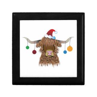 Christmas Cow Gift Box