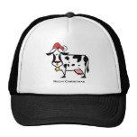Christmas Cow Mesh Hat
