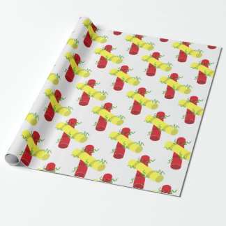 Christmas Crackers Wrapping Paper