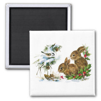 Christmas Critters Magnet