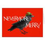 Christmas Crow Card