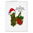 Christmas Cthulhu Card