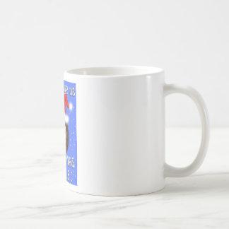 christmas cuddle hedgehog coffee mug
