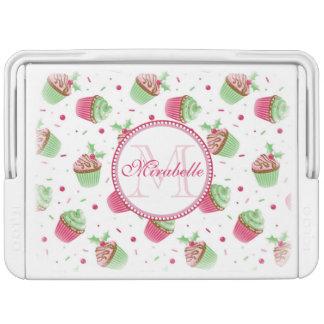Christmas cupcake design, Name & Monogram Cooler