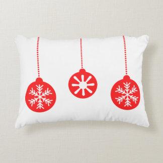 Christmas cushion red balls of Christmas