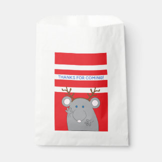 "Christmas Custom Favor Bag ""Merry Christmouse"""