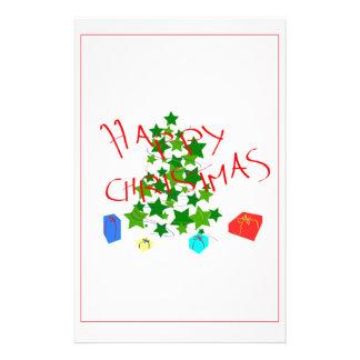 christmas customised stationery