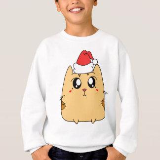 Christmas Cute Kitty Cat Sweatshirt