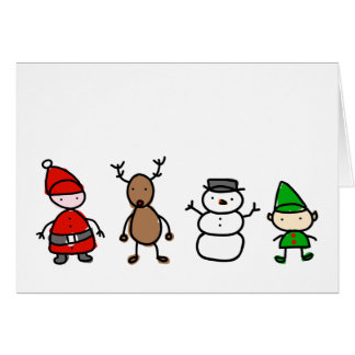 Christmas Cuties Kid Style Card