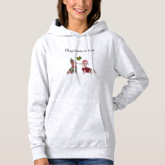 Christmas Dachshund Hoodie Wiener Dog Shirt