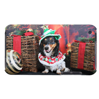 Christmas - Dachshund - Phoenix iPod Touch Cases