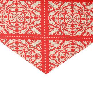 Christmas Damask Tissue Paper