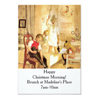 Christmas Day in the Nursery Card