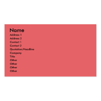 Christmas - Deck the Halls - Afghans Business Card Template
