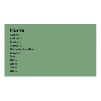 Christmas - Deck the Halls - Afghans Business Cards